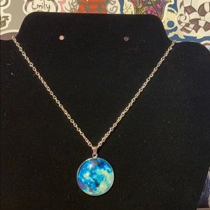 5/$25 GITD Moon Necklace